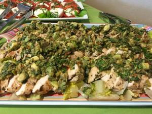 Spicy Tuesday - Mediterranean Avocado Relish - Cilantro