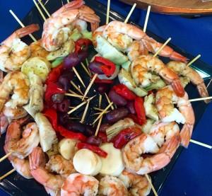 Mediterrenan Shrimp Salad